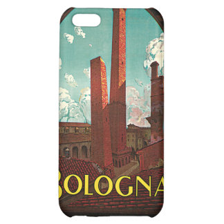 Vintage Travel , Bologna, Italy Case For iPhone 5C
