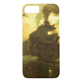 Vintage Travel By Train Case-mate iPhone 7 Case