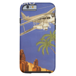 Vintage Travel Cairo Egypt Africa Airplane iPhone 6 Case