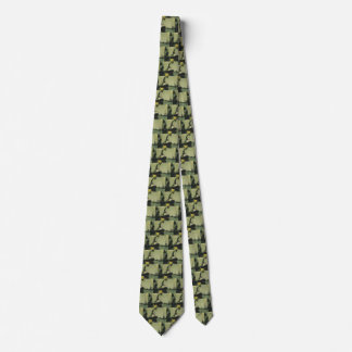 Vintage Travel, Cruise Ship in a Harbor Neck Tie