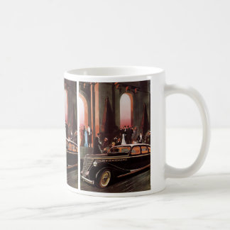 Vintage Travel, Elegant Stretch Limo Limousine Car Coffee Mug