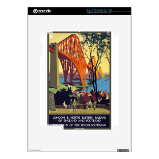 Vintage Travel England And Scotland Skin For iPad 2
