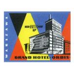 Vintage Travel Europe, Warsaw, Poland Postcard