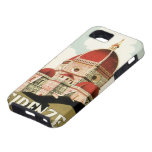 Vintage Travel Florence Firenze Italy Church Duomo iPhone 5 Covers