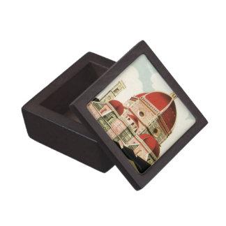 Vintage Travel Florence Firenze Italy Church Duomo Keepsake Box