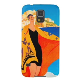 Vintage Travel - French Mediterranean - Lyons Case For Galaxy S5