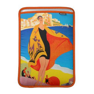 Vintage Travel - French Mediterranean - Lyons MacBook Air Sleeve