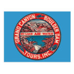 Vintage Travel - Grand Canyon / Boulder Dam Post Cards