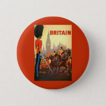 Vintage Travel, Great Britain England, Royal Guard Button