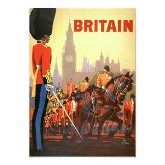 Vintage Travel, Great Britain England, Royal Guard Card