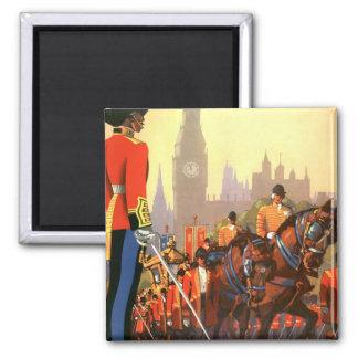 Vintage Travel Great Britain England Royal Guard Fridge Magnet