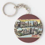 Vintage Travel Greetings from Grand Canyon Arizona Key Chains