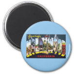 Vintage Travel Greetings from Hollywood California Fridge Magnets