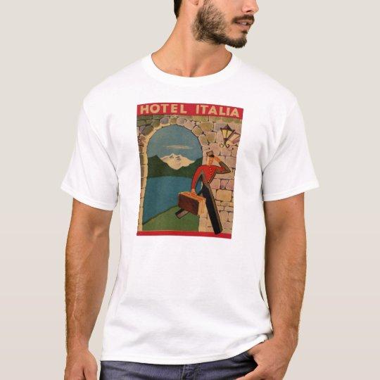 Vintage Travel - Hotel Italia T-Shirt