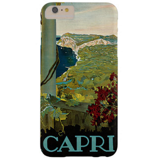Vintage Travel, Isle of Capri, Italy Italia Coast Barely There iPhone 6 Plus Case