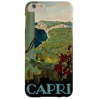 Vintage Travel, Isle of Capri, Italy Italia Coast Barely There iPhone 6 Plus Case