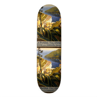 Vintage Travel Italian Riviera skateboards