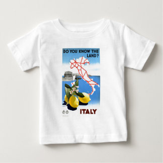 Vintage Travel Italy Baby T-Shirt