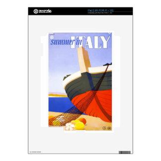 Vintage Travel Italy iPad 2 Decals