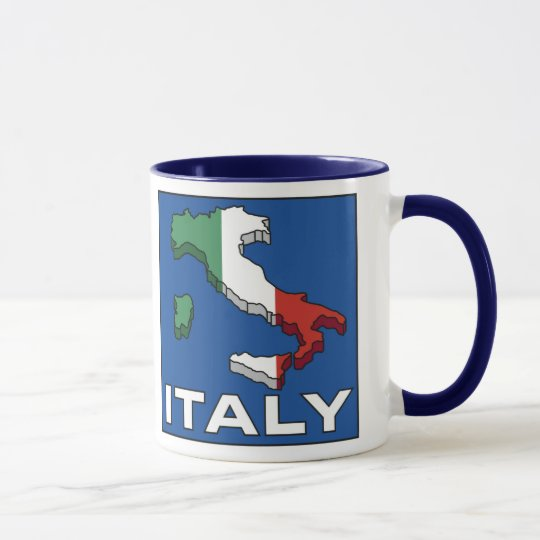 Vintage Travel Italy Logo Mug