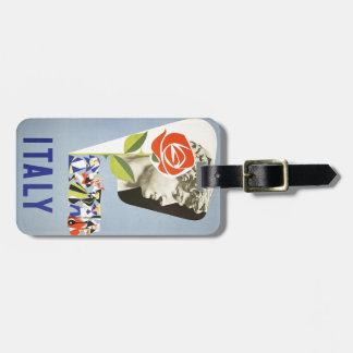 Vintage Travel - ITALY Tag For Bags