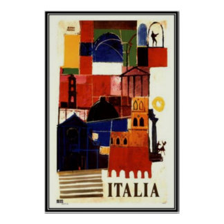 Vintage travel Italy - Posters