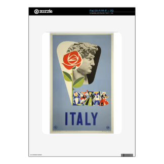 Vintage Travel Italy Skin For iPad