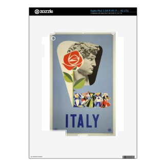 Vintage Travel Italy Skins For iPad 3