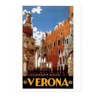 Vintage travel Italy, Verona - Postcard