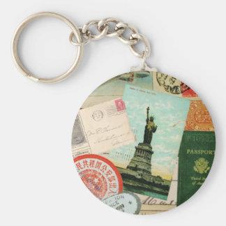 Vintage Travel...keychain