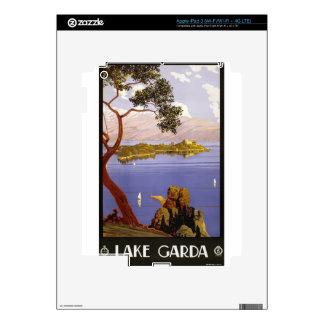 Vintage Travel Lake Garda Italy 1924 iPad 3 Skin