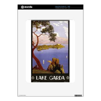 Vintage Travel Lake Garda Italy 1924 iPad Decal