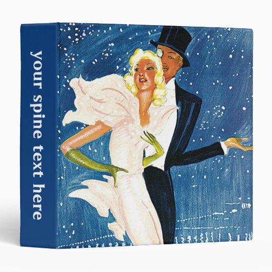 Vintage Travel, Love Romance Romantic Monte Carlo Binder