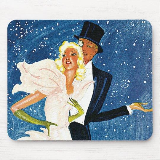 Vintage Travel, Love Romance Romantic Monte Carlo Mouse Pad