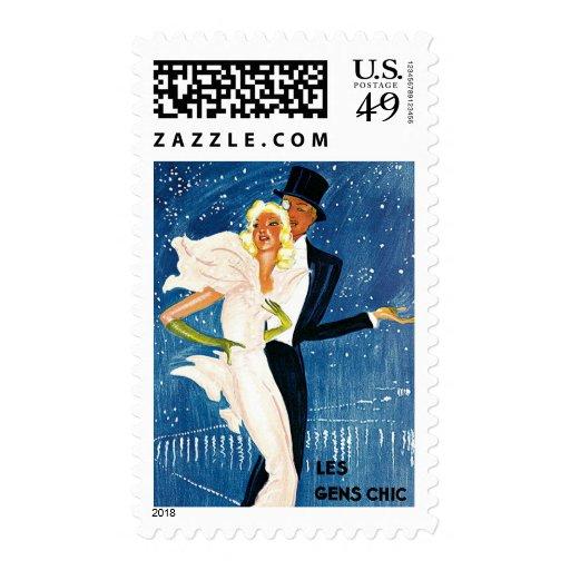 Vintage Travel, Love Romance Romantic Monte Carlo Stamps