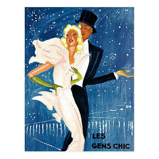 Vintage Travel, Love Romance Romantic Monte Carlo Postcard