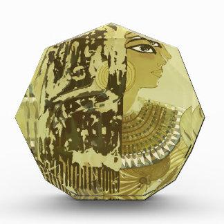 Vintage Travel Luxor Egypt Acrylic Award