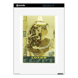 Vintage Travel Luxor Egypt Decal For iPad