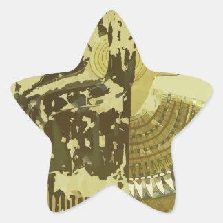 Vintage Travel Luxor Egypt Star Sticker