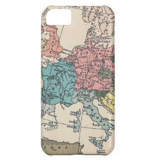 Vintage Travel Map iPhone 5C Case