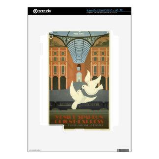 Vintage Travel Milan Orient Express iPad 3 Skins