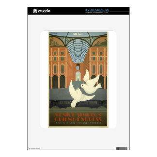 Vintage Travel Milan Orient Express Skin For The iPad