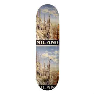Vintage Travel Milano Milan Italy skateboards