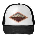 Vintage Travel, Mount Everest, Darjeeling India Trucker Hats