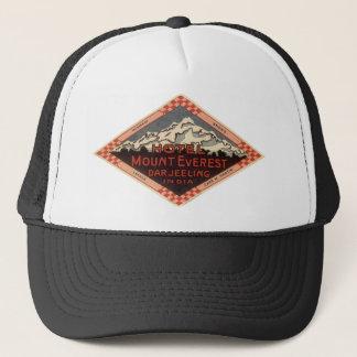 Vintage Travel, Mount Everest, Darjeeling India Trucker Hat