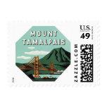 Vintage Travel, Mount Tam, Tamalpais Mountain Postage Stamps