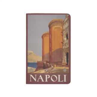 Vintage Travel Napoli Naples Italy pocket journal