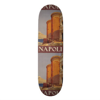 Vintage Travel Napoli Naples Italy skateboards