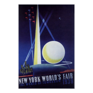 Vintage Travel New York City World s Fair 1939 Posters