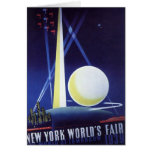 Vintage Travel, New York City World's Fair 1939 Card